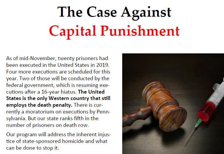 case against capital punishment-slider